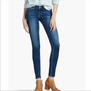 Leyla Skinny Lucky Brand Ankle Jeans